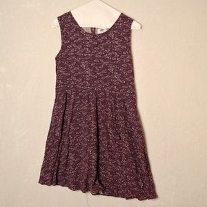Old navy XL girls youth dress floral print